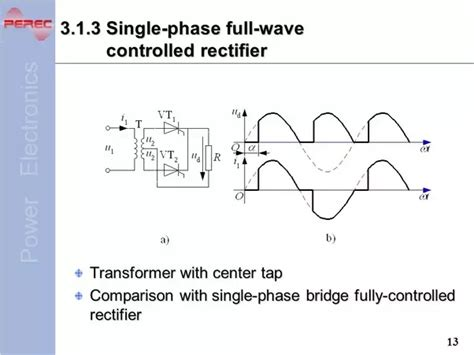 what is the difference between controlled and uncontrolled rectifier quora
