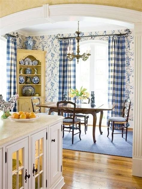 french country kitchen blue  yellow google search