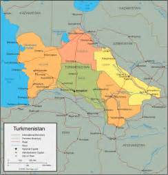 physical map of turkmenistan turkmenistan map and satellite image