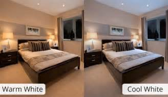 Bedroom Led Lights - warm white or cool white integral led