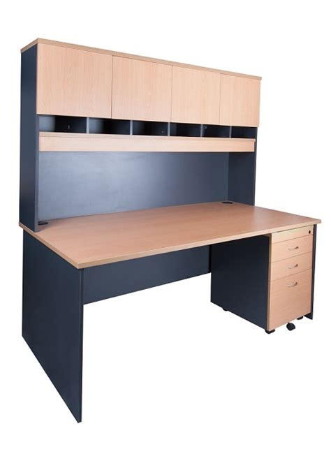 Express Office Products by Express 1800 Desk And Hutch Package Ideal Furniture