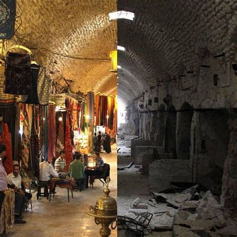 syria before and after before after photos of syria reveals war s destructive
