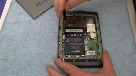 resetting kindle battery how to replace your amazon kindle touch battery youtube