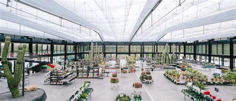 design hub greenhouse cafe desert city inside europe s largest cactus garden
