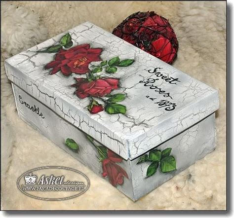 decoupage tutorial shoe box decoupage shoe box and boxes on pinterest