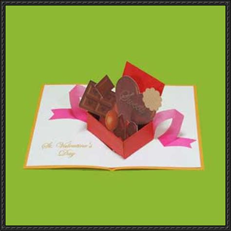Papercraft Cards - papercraftsquare new paper craft valentine s day