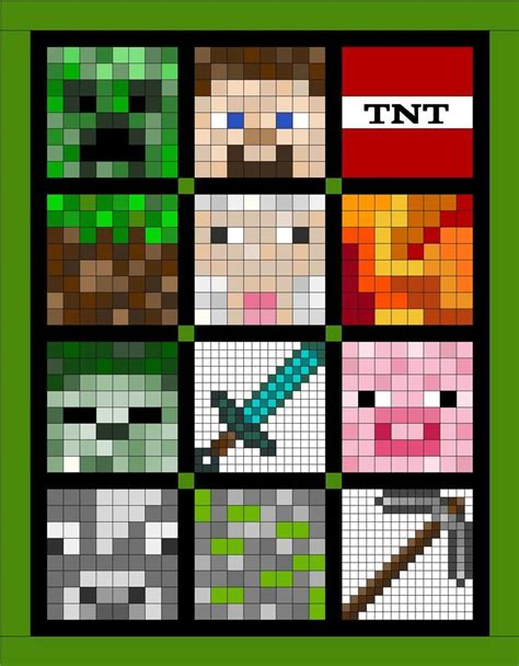 Pixel Quilt Pattern by Pixel Quilt Arcade Quilt