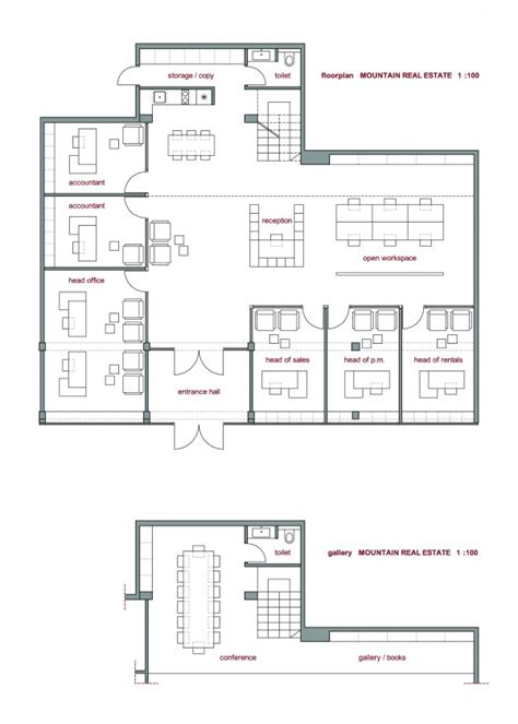 real estate office layout plan office buildings designed by herarh mountain real estate