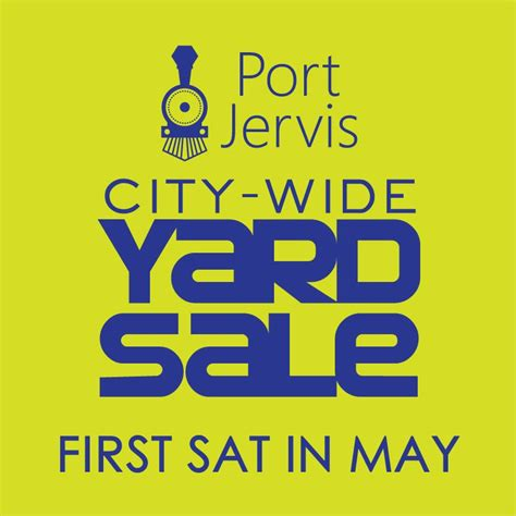 port jervis city wide yard sale the pointed hat the