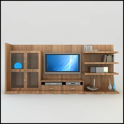 modern tv unit design tv wall unit modern design x 18 3d models cgtrader com