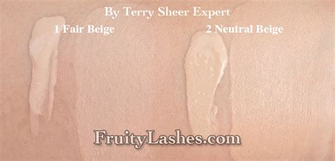 by terry sheer expert foundation by terry sheer expert and cover expert foundation review