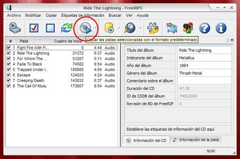 freerip 3 manual ripping audio cds manual de freerip 3 copiado de cd de audio