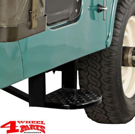 Jeep Cj5 Side Steps 4 Wheel Parts Side Steps Pair Entry Step Set Black Steel