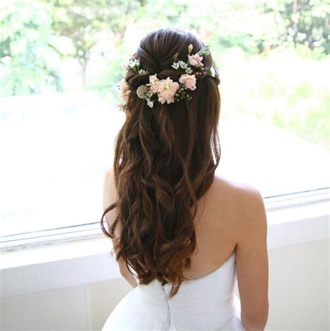 55 beautiful wedding hairstyles ideas with bangs for long