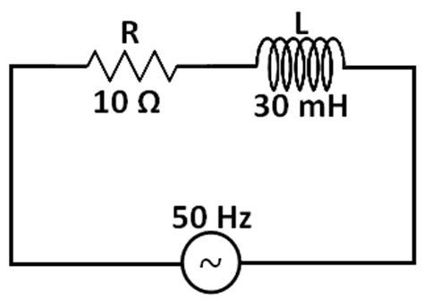 menghitung induktor seri rangkaian seri resistor dengan induktor pada sumber arus listrik bolak balik 1 fasa teknik listrik