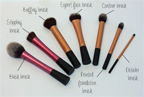 beauty review real techniques make up brushes the red style beauty spotlight real techniques make up brushes all