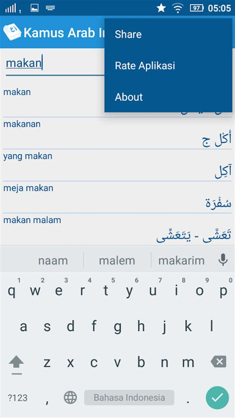 Kamus Arab Indonesia Ori kamus arab indonesia android apps on play