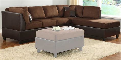 Chocolate Sectional Sofa 1144 00 Comfort Living Chocolate Sectional Sofa Sectional Sofas He 9909ch 3 9909ch 5 8