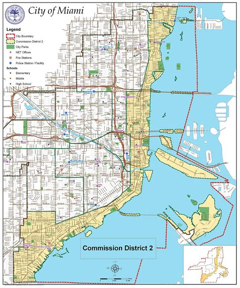 of miami large miami maps for free and print high