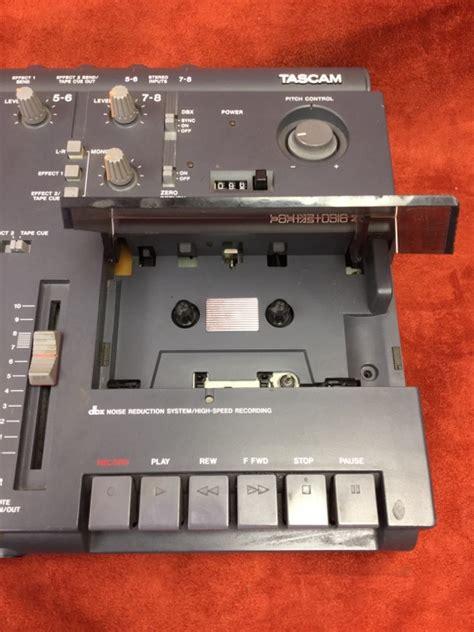tascam portastudio cassette tascam 414 portastudio 4 track analog cassette recorder