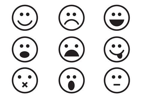 Free Emoticon Set Vector Download Free Vector Art Stock