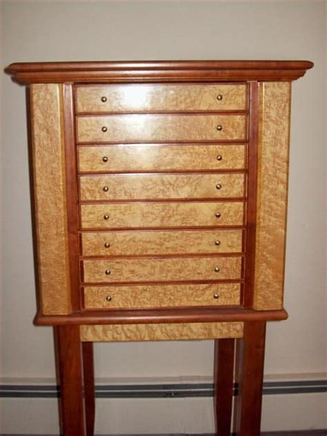 Custom Jewelry Armoire by Made Jewelry Armoire By Carl Larson Custommade