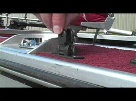 installing bimini top on boat how to install a bimini top youtube