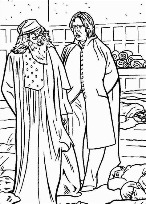 harry potter coloring pages snape harry potter 033 coloring page