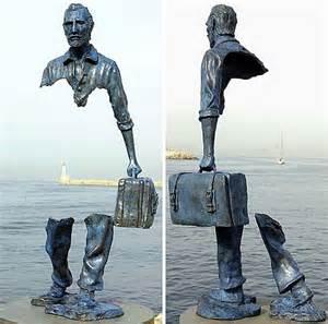 amazing sculptures top 10 most amazing broken style statues