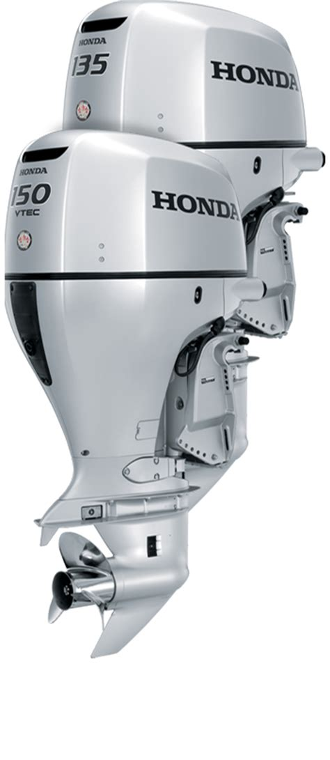 honda boat motors honda bf135 150 outboard engines 135 and 150 hp 4