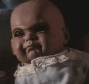 when puppets and dolls attack demonic toys horror gif by absurdnoise find on giphy