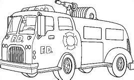 free fire truck clipart