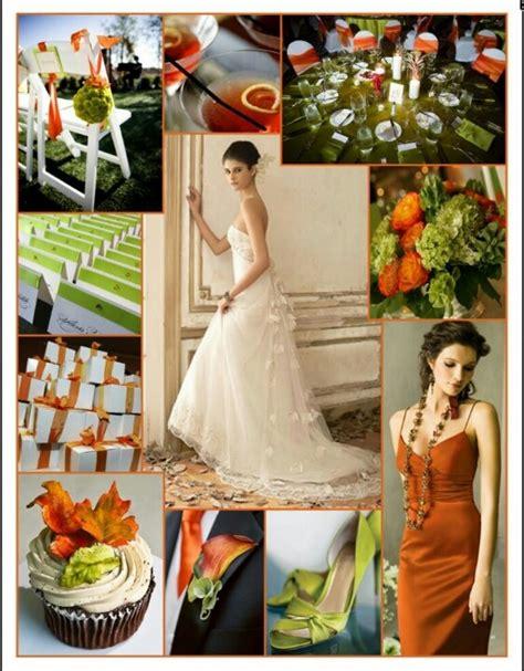 wedding color scheme generator rust color wedding rust orange and olive green color
