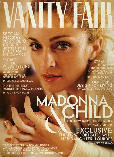 Madonna Vanity Fair by Pud Whacker S Madonna Scrapbook Madonna And Child