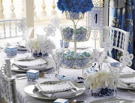 White And Blue Favors by Tbdress Gorgeous Blue And White Wedding Theme Ideas