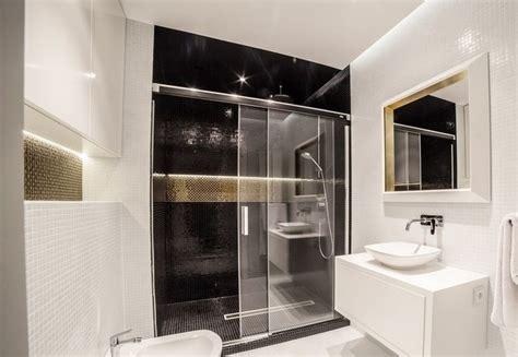led beleuchtung wand indirekte beleuchtung led badezimmer decke wand schwarz