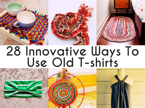 Diy Projects Out Of Old T Shirts