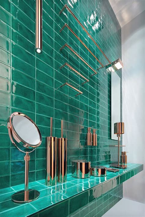 25 best ideas about green bathroom tiles on