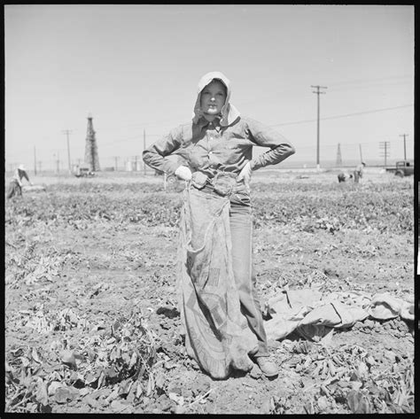 Kern County California Records File Kern County California Migrant Youth In Potato