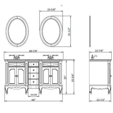 Bathroom Vanity Height What Is The Standard Height Of A Bathroom Vanity