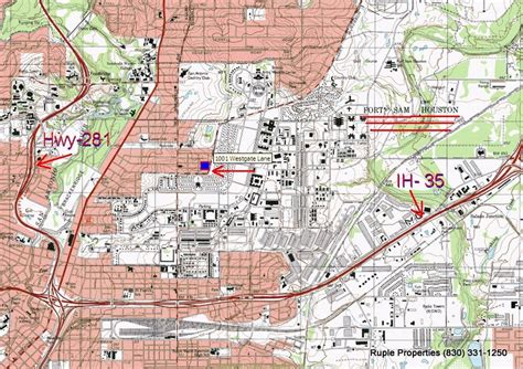 fort sam houston texas map commercial property located near ft sam houston ruple properties