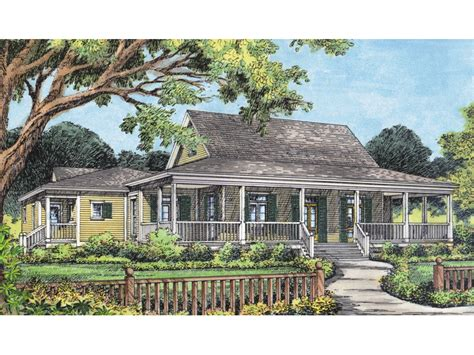 Acadian Style House Plans With Wrap Around Porch Cville Country Acadian Home Plan 047d 0170 House Plans And More