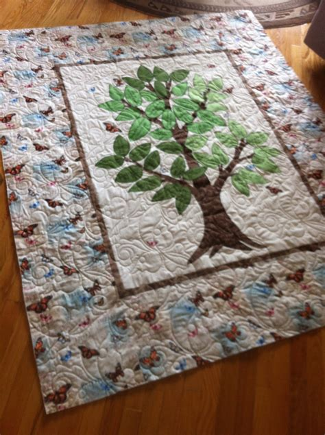 Tree Quilts by Magpie Quilts Family Tree Quilt