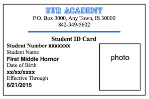 child id card template free finally blogging
