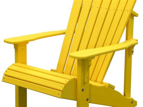 Yellow Chair Design Ideas Yellow Adirondack Chair Home Design Ideas