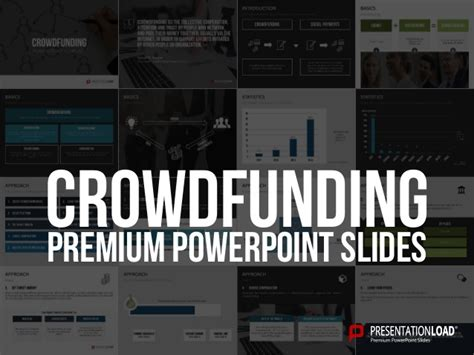 Crowdfunding Ppt Template Crowdfunding Template