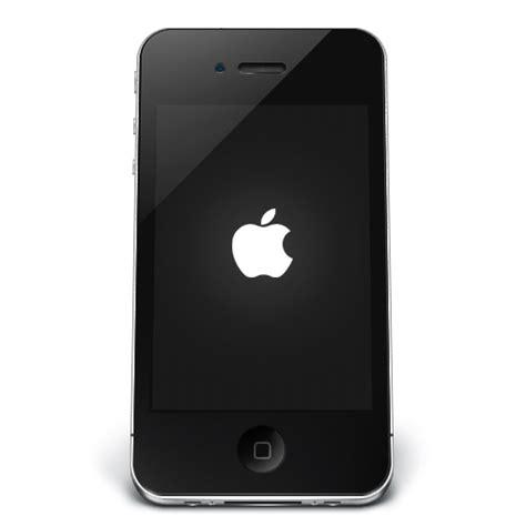 Black Apple IPhone Icon, PNG ClipArt Image | IconBug.com
