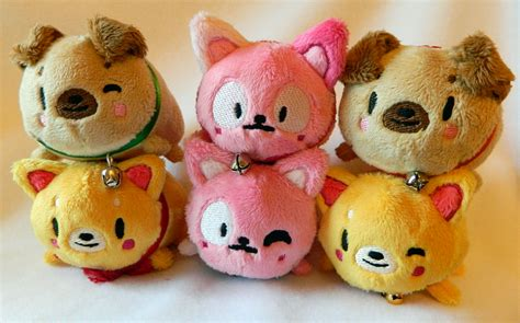 pug tsum tsum tsum tsum styled plushies for sale by hobbagobwin on deviantart