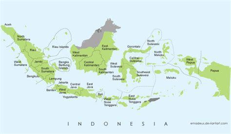 gambar peta indonesia simple koleksi gambar hd