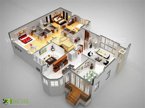 Floor Plan Creator by 3d Floor Plan Design Interactive 3d Floor Plan Yantram